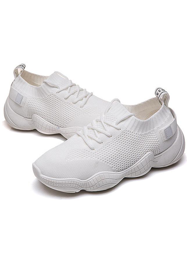 Giày sneaker nữ chất liệu mềm mại không đau chân 0500