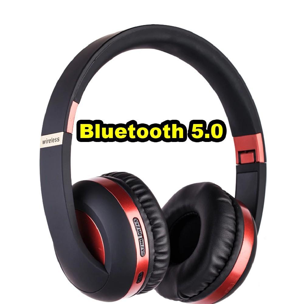 Tai nghe Bluetooth chụp tai EK-Mh4 BT 5.0 - Hỗ trợ thẻ nhớ - Hệ thống âm bass khỏe có thể gập lại - pin trâu - dc3488