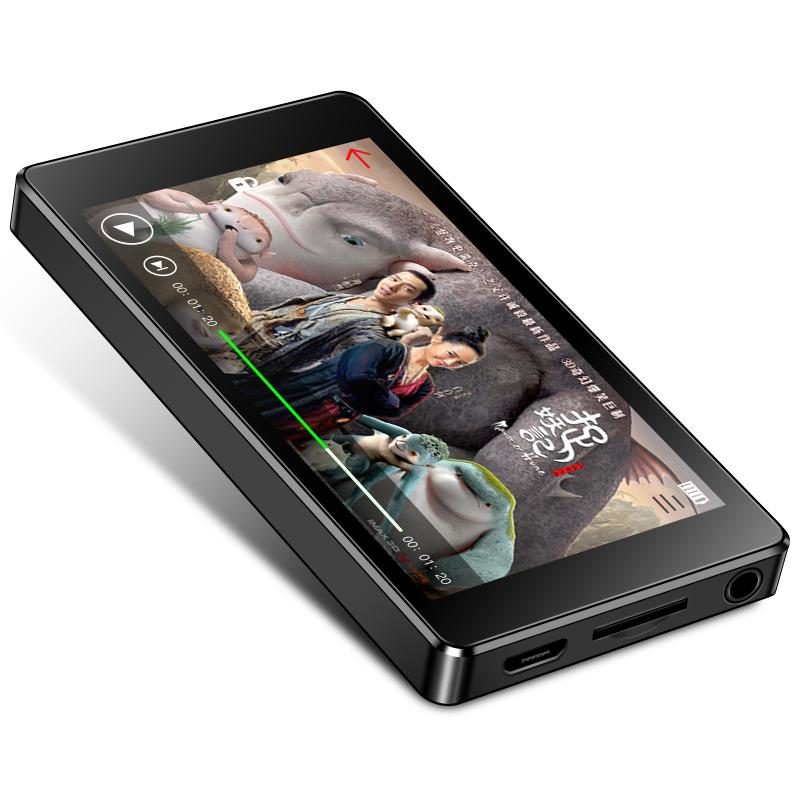 Ruizu D20 - Máy nghe nhạc MP4, màn hình cảm ứng - Hàng Chính Hãng