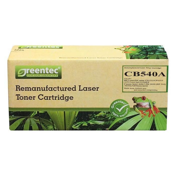 Mực In Laser Màu Greentec CB540A (316K) - Hàng Chính Hãng