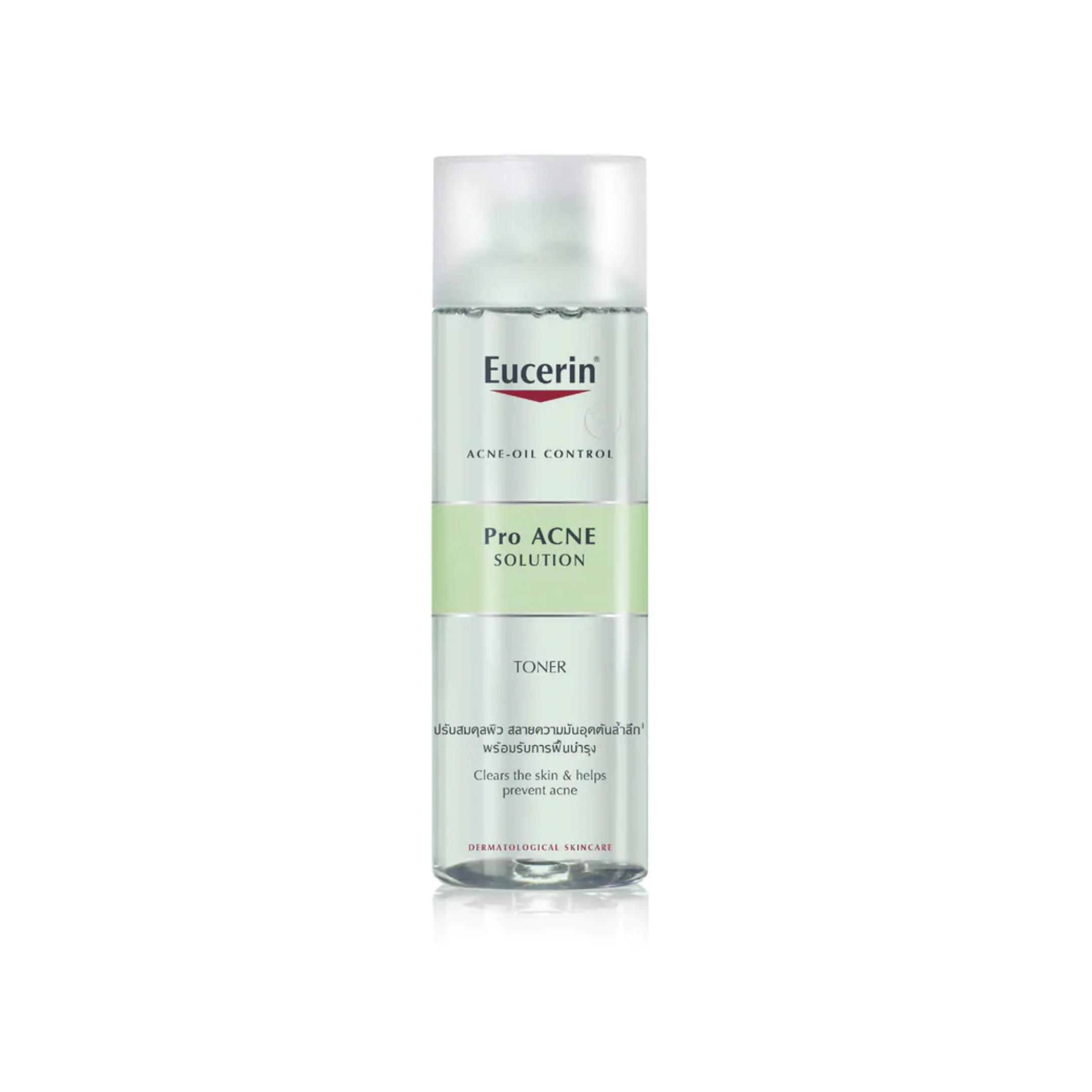 Nước cân bằng dành cho da mụn Eucerin Pro Acne Toner 200ml (Nhập khẩu)