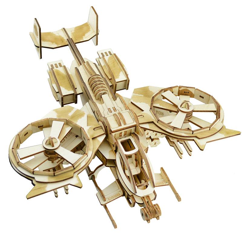 Đồ chơi lắp ráp gỗ 3D Mô hình Máy bay Avatar