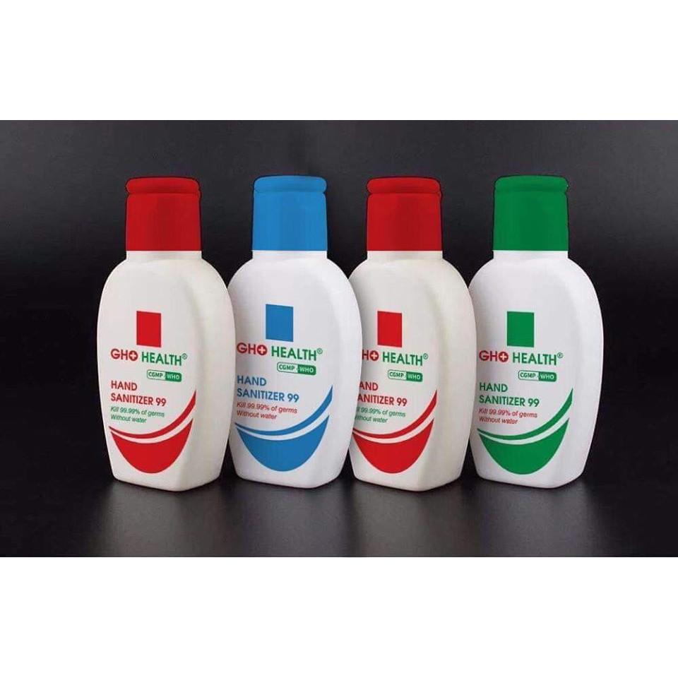 Dung dịch rửa tay khô GHO Health Hand Sanitizer 99  màu ngẫu nhiên