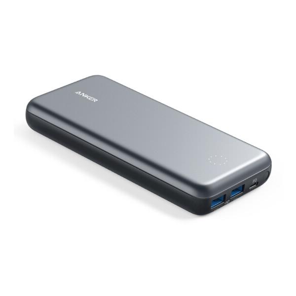 Pin Sạc Dự Phòng AnkerPowerCore+ 19000mAh Hỗ Trợ Power Delivery PD Kiêm Hub USB - A1362 - Hàng Chính Hãng