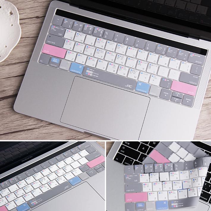 Phủ phím TPU/Silicon JRC Shortcut Easy Style dành cho Macbook đủ dòng - Hàng nhập khẩu cao cấp