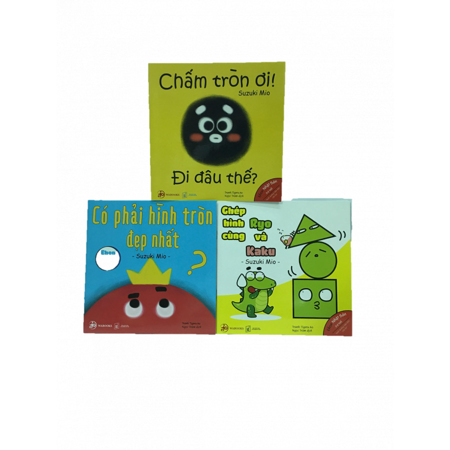 Combo3 cuốn - Ehon nhật bản 0-6 tuổi , Nuôi dưỡng tâm hồn cho bé (1053hk)