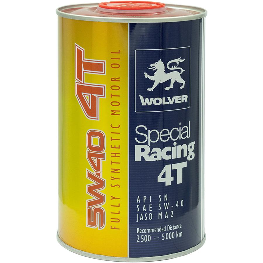 Nhớt Động Cơ Xe Máy Wolver Special Racing 5W-40 SN JASO MA-2 (1 Lít)