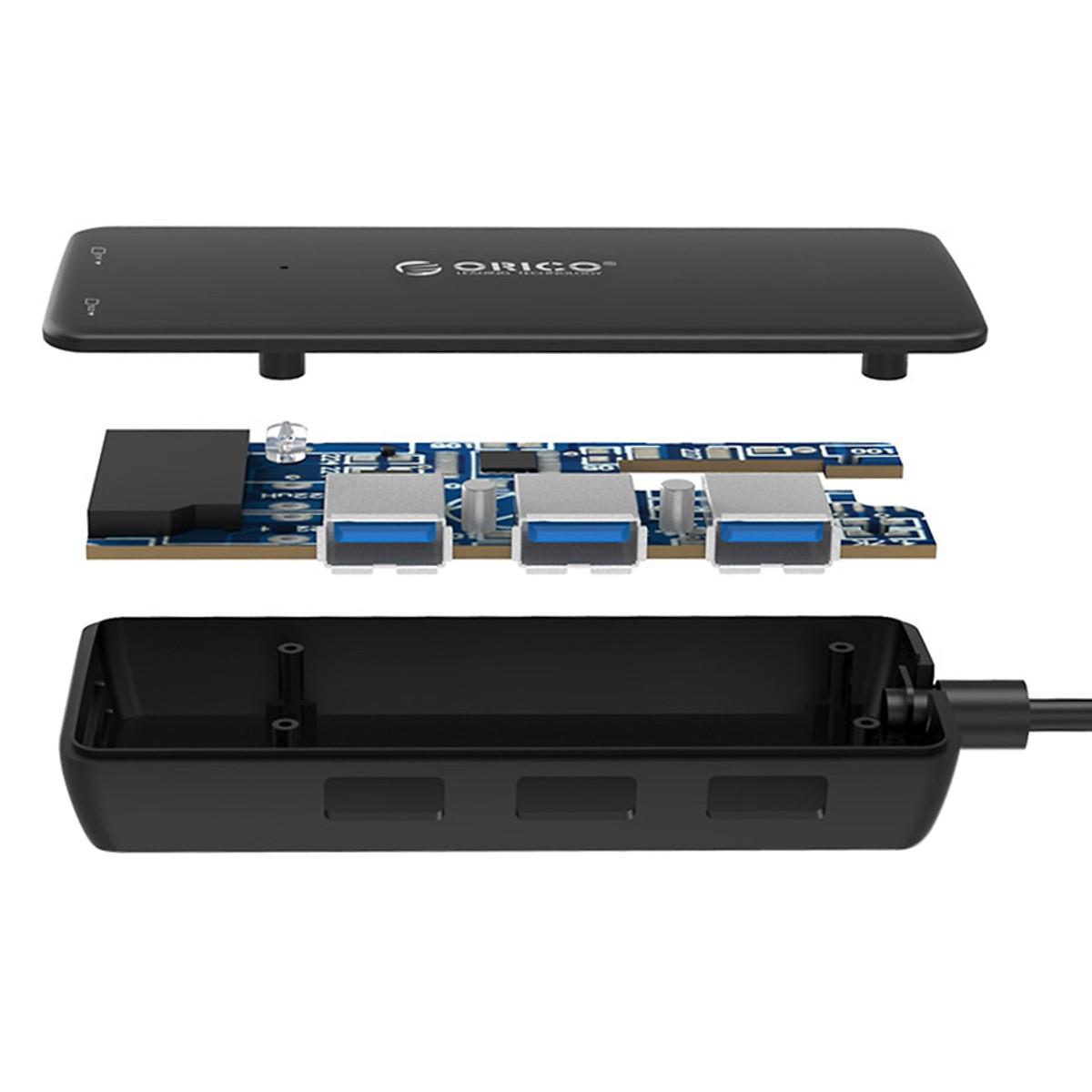 Hub USB 3.0 Orico 3 Cổng H3TS-U3 - Hàng Chính Hãng