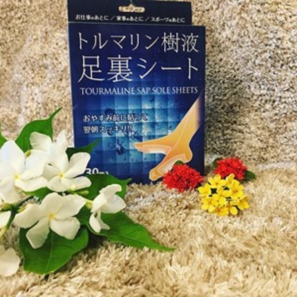 Miếng dán thải độc chân Taurmaline Nhật Bản