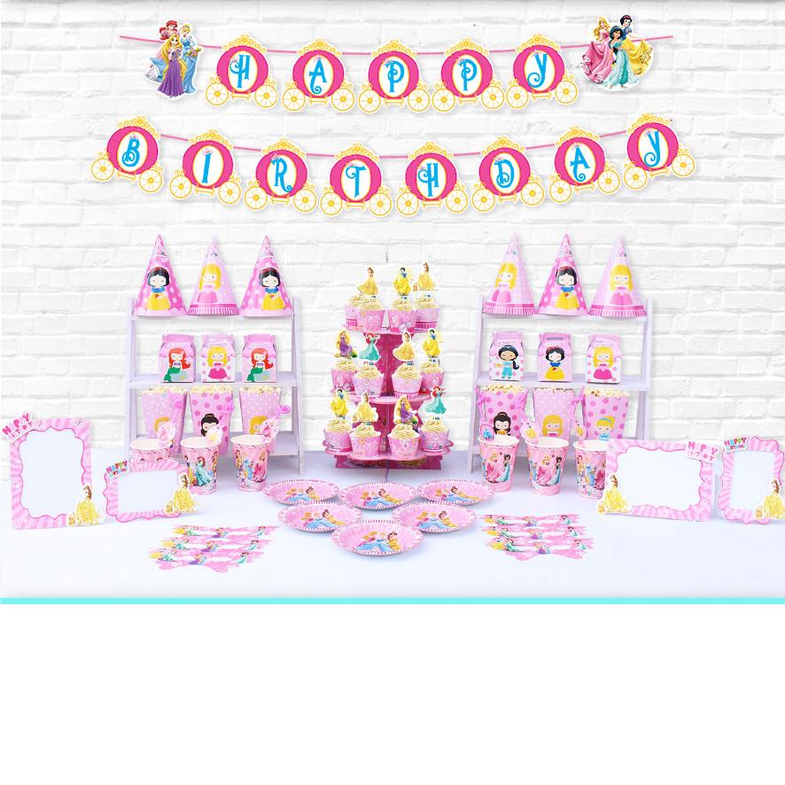Set Mega trang trí sinh nhật nhiều chủ đề