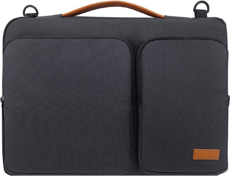 Túi xách laptop nhiều ngăn - Đen - 13-14 inch - 23308438 , 5178833715653 , 62_13287199 , 450000 , Tui-xach-laptop-nhieu-ngan-Den-13-14-inch-62_13287199 , tiki.vn , Túi xách laptop nhiều ngăn - Đen - 13-14 inch