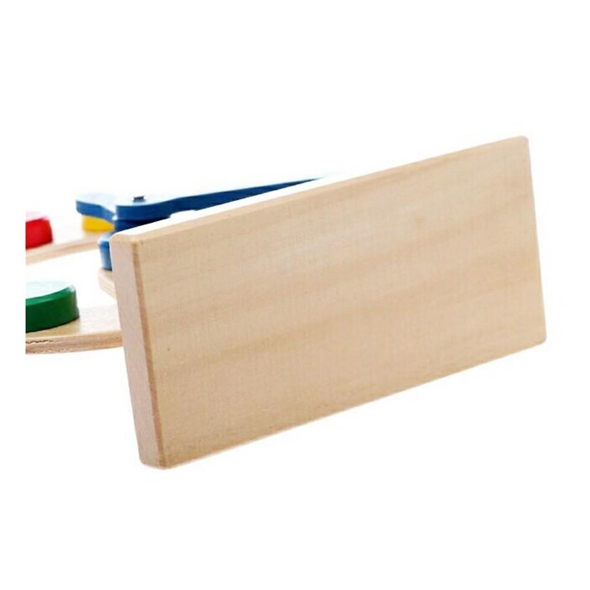 Đồ chơi gỗ mô hình đồng hồ để bàn - HH1154