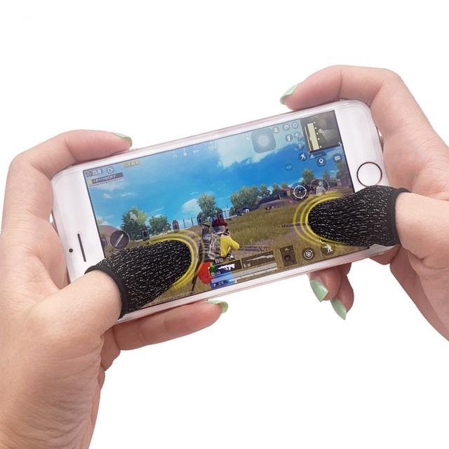 Bộ Găng Tay 4 Ngón Cảm Ứng CONVI CV04 Chơi Game Điện Thoại - Bộ Bao Tay 4 Ngón Chống Mồ Hôi, Chống Trượt Gear Chuyên Game Mobile - Hàng Chính Hãng