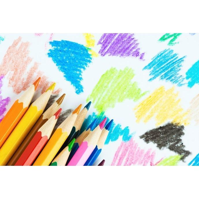 Hộp 36 bút chì màu cao cấp cho bé tập tô tập vẽ. HỘP 36 CHIẾC BÚT CHÌ MÀU PENSING