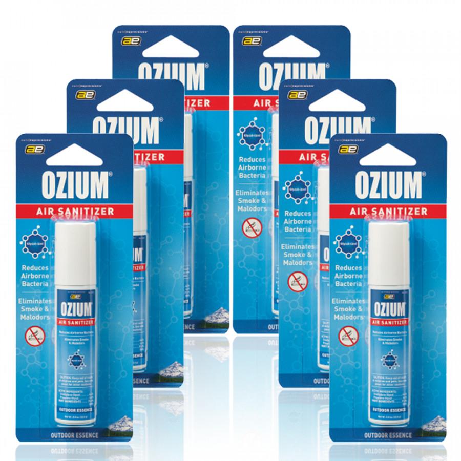 Bình xịt khử mùi Ozium Air Sanitizer Spray 0.8 oz (22.6g) Outdoor Essence/OZ-31-6packs