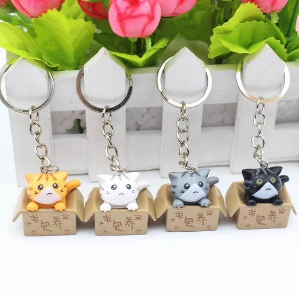 Bao Case Cho Airpods 1/ 2 Hình Totoro_Tặng Kèm Móc khóa Mèo Con Ngồi Hộp