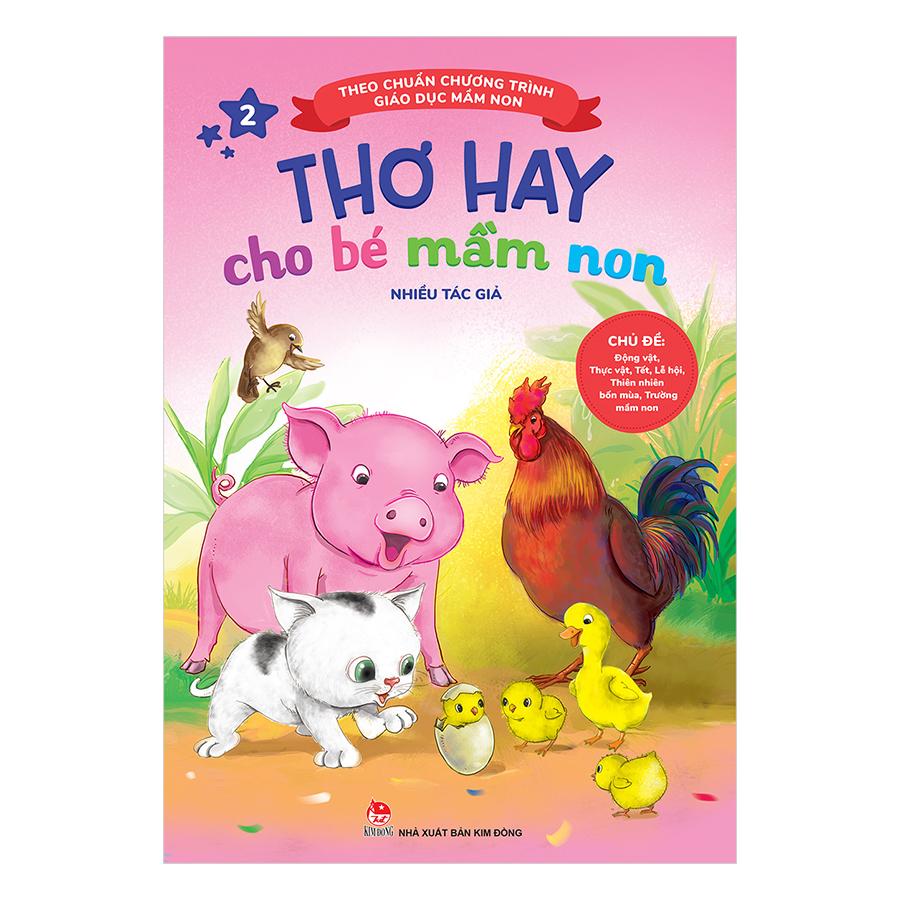 Thơ Hay Cho Bé Mầm Non (Tập 2) (Tái Bản)