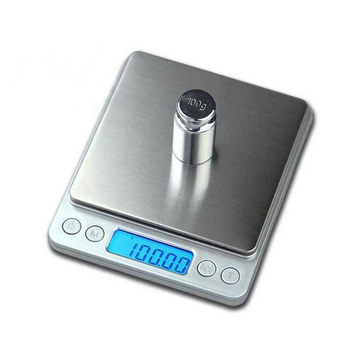 Cân điện tử tiểu li mini 500gr-0.01gr i-2000