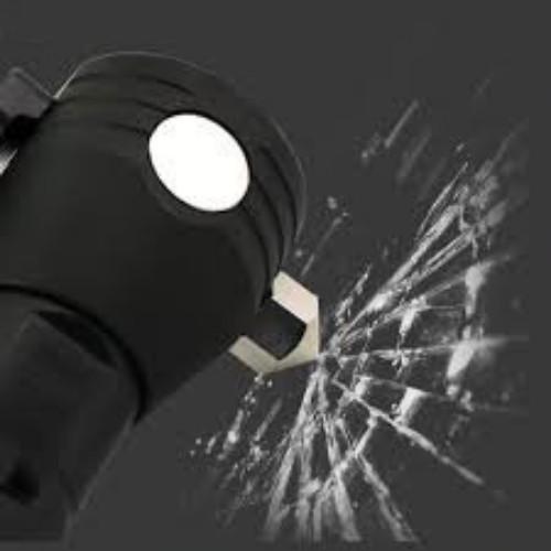 Đèn pin năng lượng mặt trời có sạc USB TNT có 11 chức năng nâng cấp mới - đen