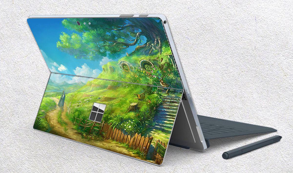 Skin dán hình Ghibli anime cho Surface Go, Pro 2, Pro 3, Pro 4, Pro 5, Pro 6, Pro 7, Pro X