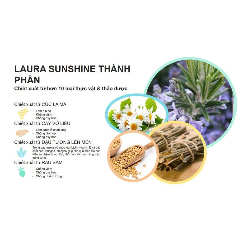 NƯỚC TẨY TRANG MẮT MÔI 2 LỚP HÀN QUỐC LAURA SUNSHINE LIP & EYE REMOVER NHẬT KIM ANH