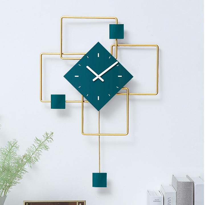 Đồng hồ hiện đại treo tường 20inch (kt 46x68,5cm)