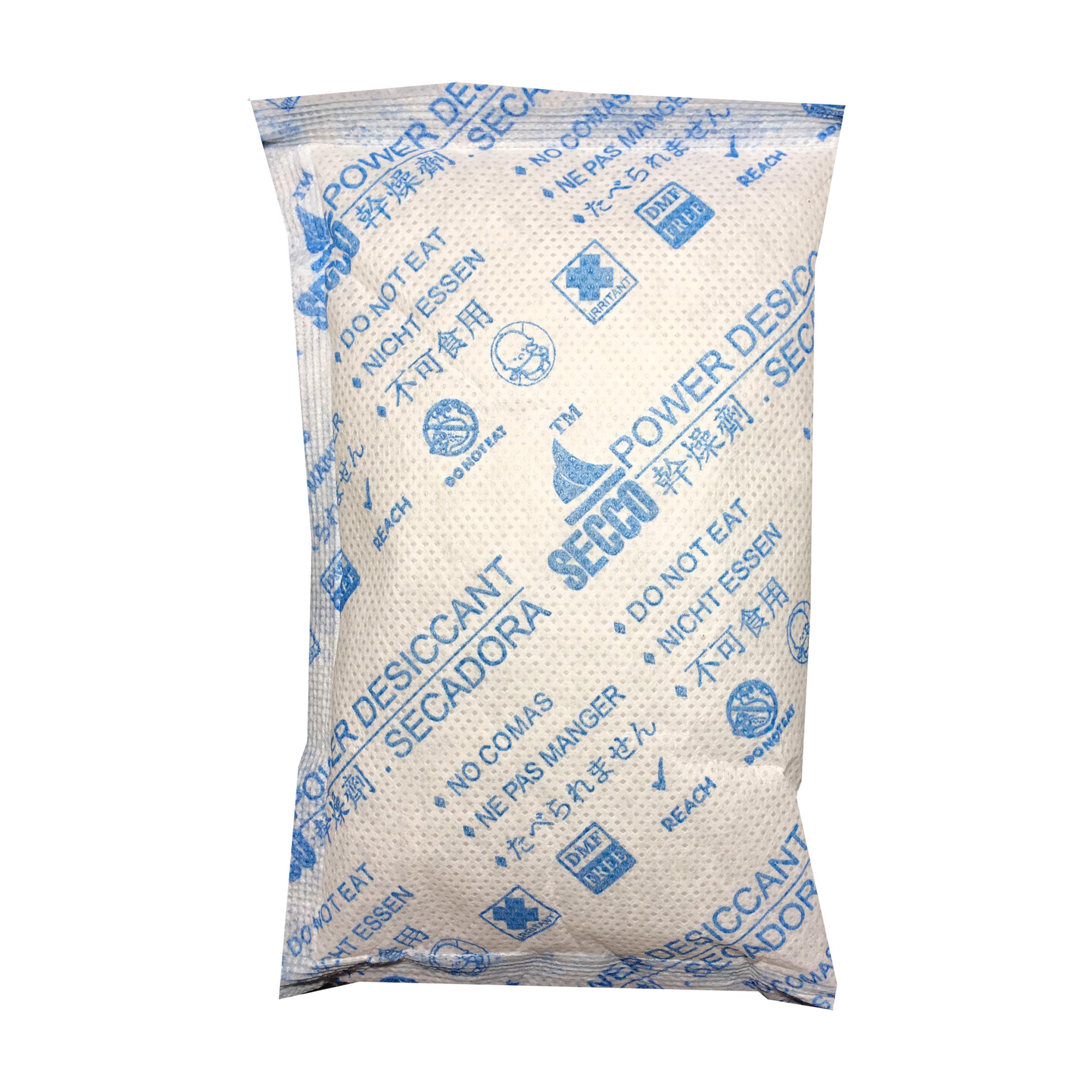 Gói hút ẩm Secco silica gel 100gr  - 1kg(10 gói) - bảo quản thiết bị điện tử, máy ảnh không ẩm móc - Chính hãng - Vải trắng - Chữ to xanh 2 mặt.