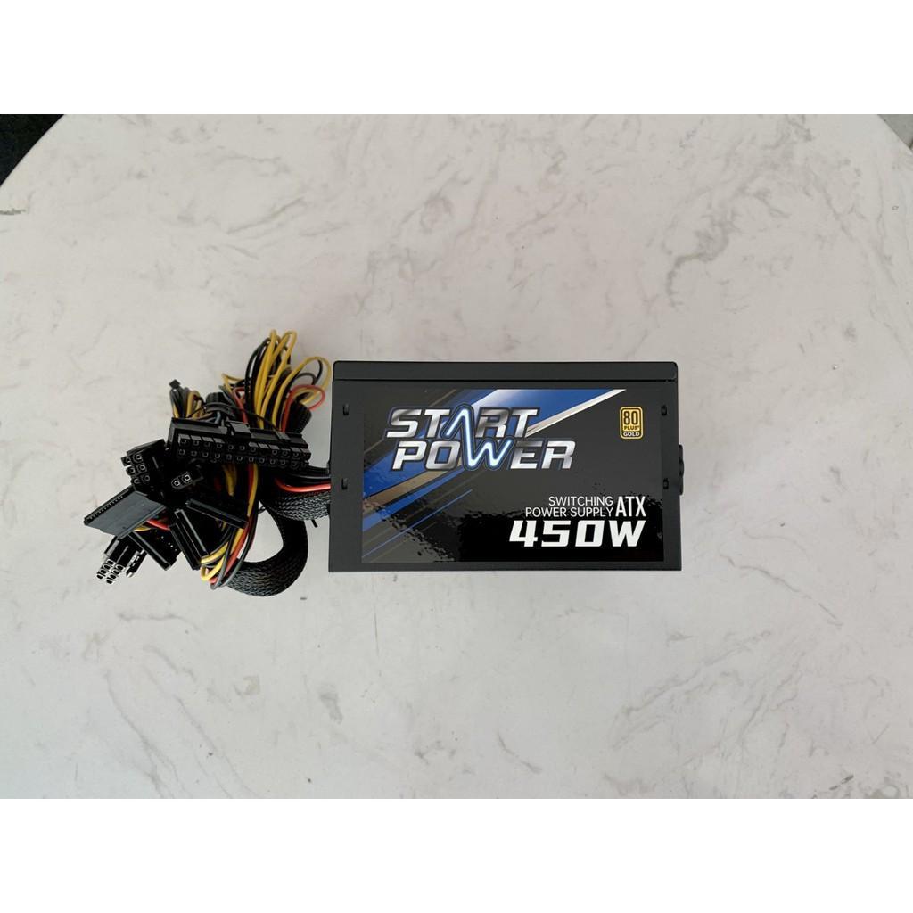 Nguồn Máy Tính Start Power 450W - Fan 120mm - Chống Ồn - 80 Plus