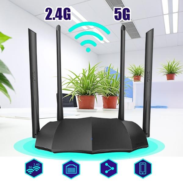 Thiết bị phát Wifi chuẩn AC 1200Mbps Tenda AC8 - Hàng Chính Hãng