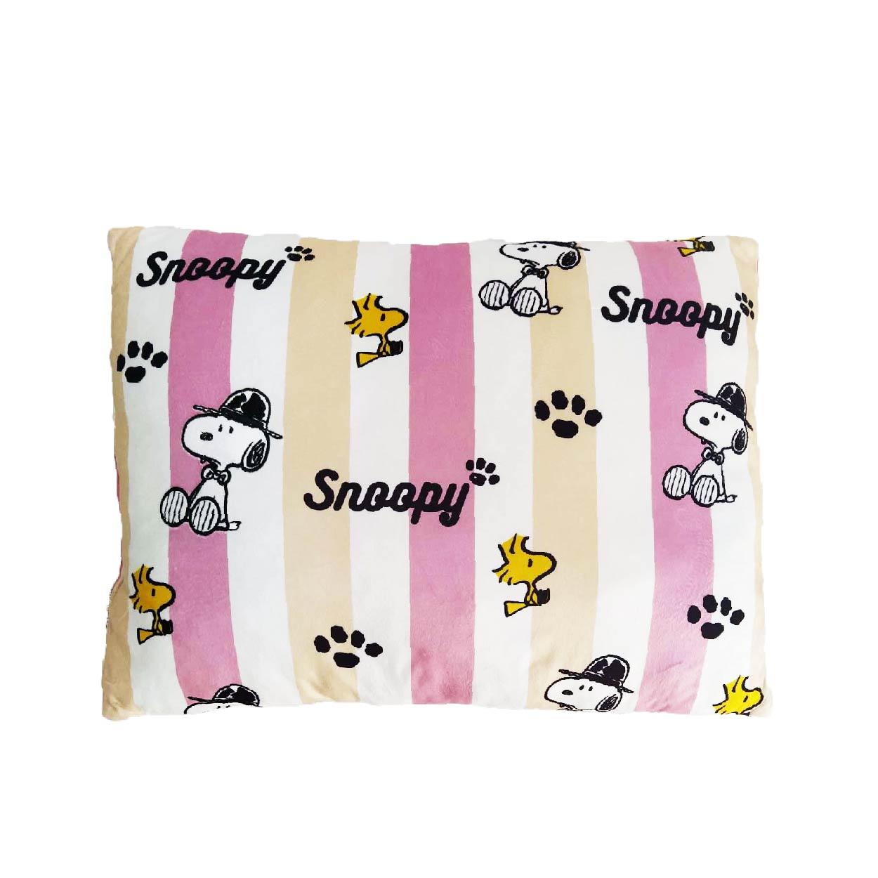 Gối chữ nhật Snoopy chính hãng