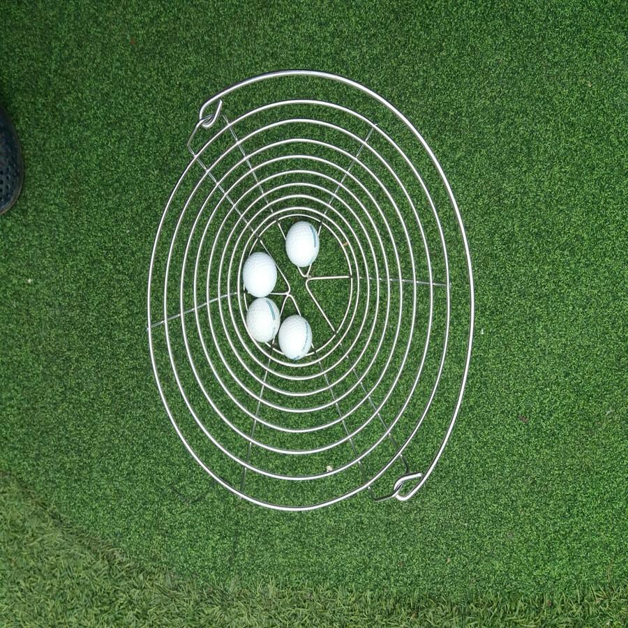 Rổ Đựng Bóng Golf Bằng Inox
