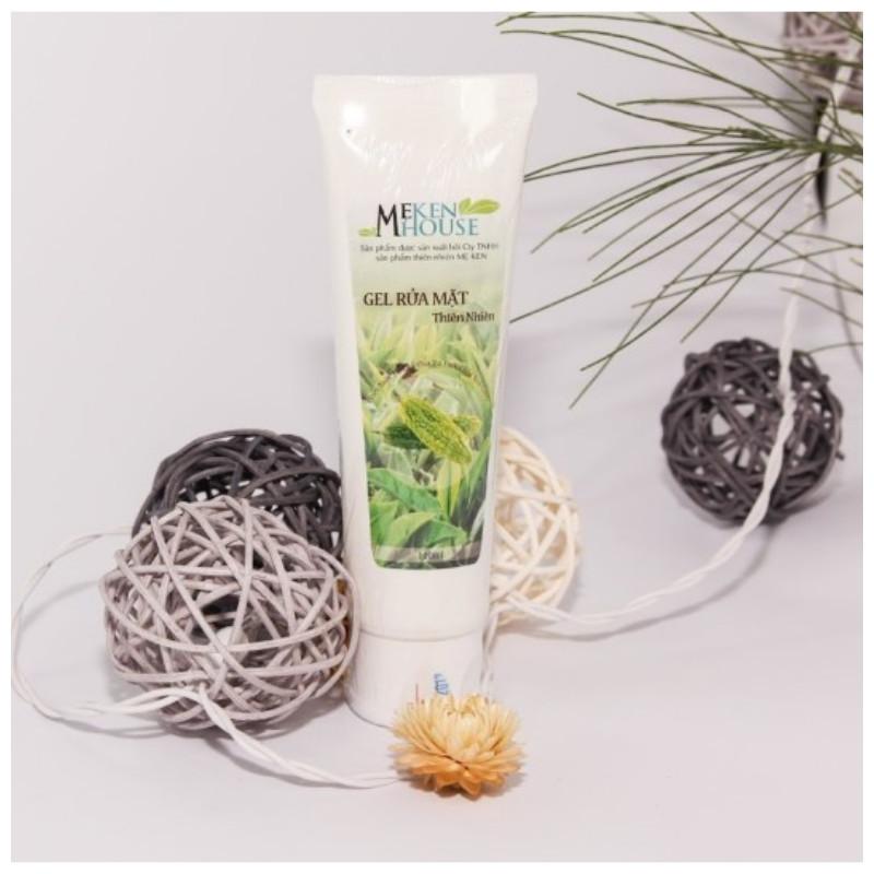 Gel rửa mặt thiên nhiên chiết xuất từ khổ qua và tinh chất trà xanh Mẹ Men (100ml)