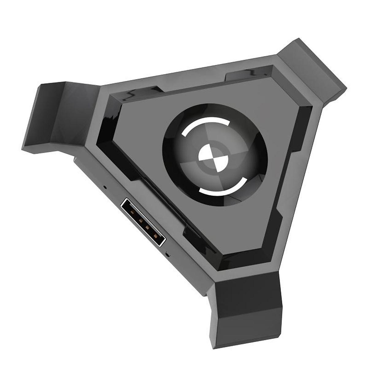 VINETTEAM Bộ Điều Khiển Bàn Phím Chuột Chuyển Đổi Di Động Tay Cầm Chơi Game PUBG cho Điện Thoại IOS, Android,PC Bluetooth Adapter- Hàng Nhập Khẩu