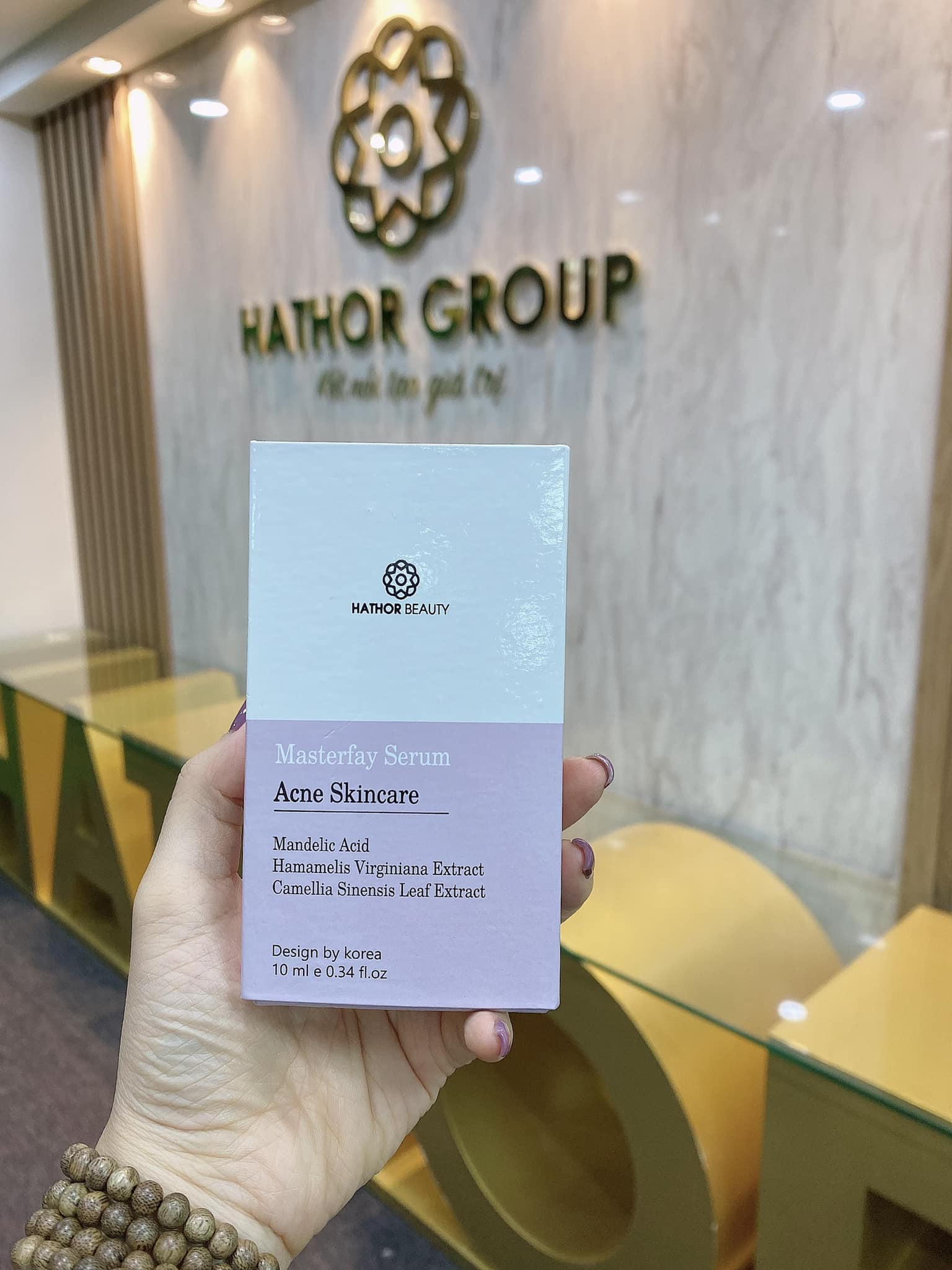 Serum Ngăn Ngừa Mụn Tái Phát Acne SkinCare Hathor Beauty 10ml