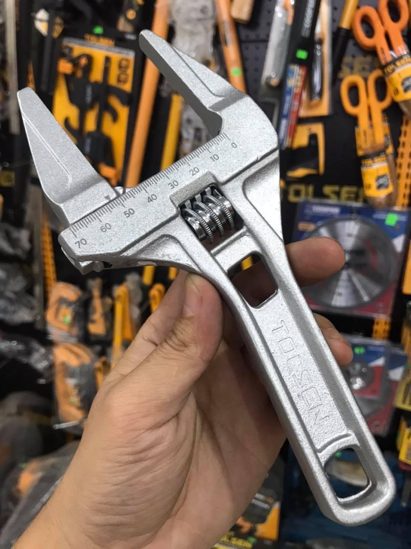 Mỏ lếch điều chỉnh 205mm 68mm Tolsen 15303