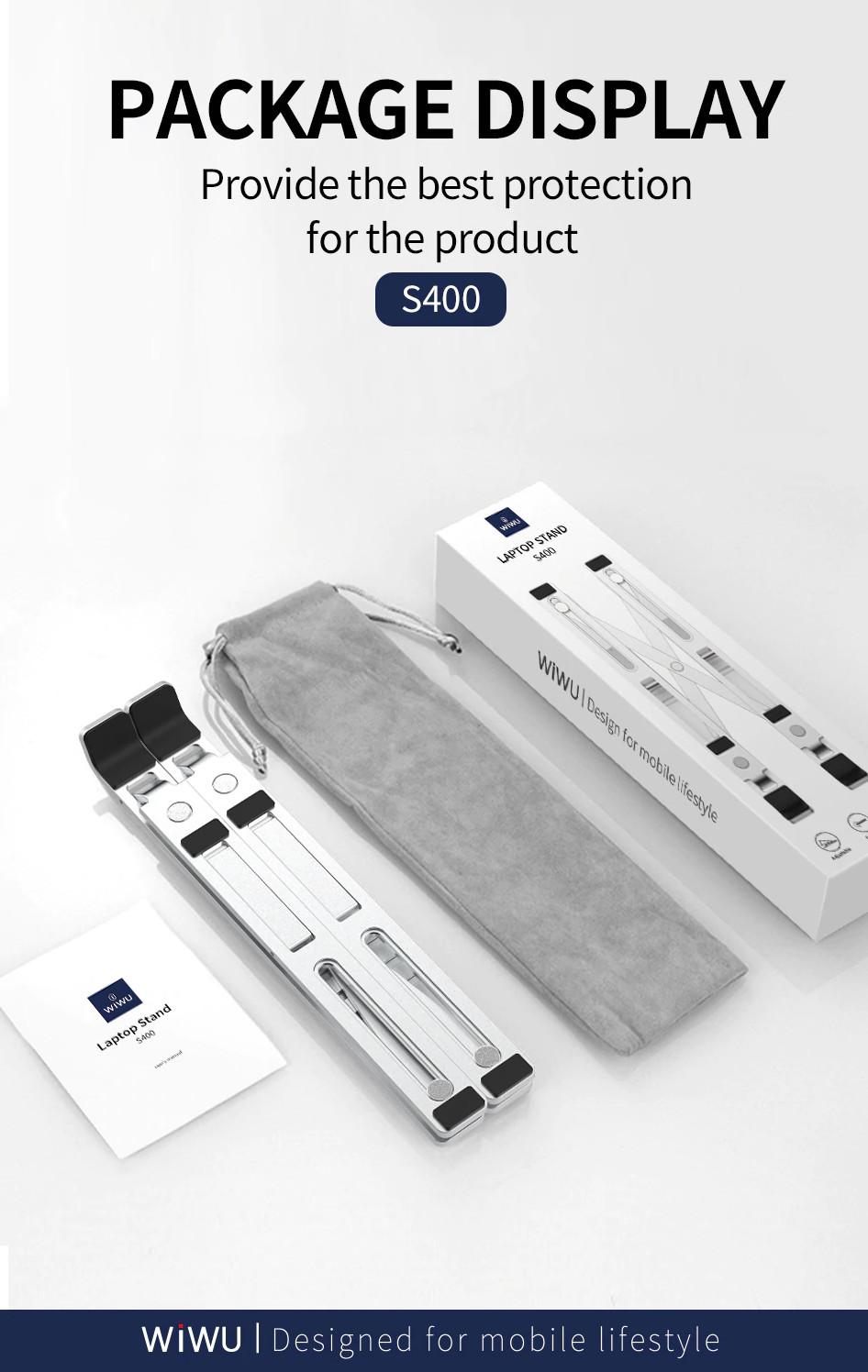 Giá Đỡ Laptop Máy Tính Bảng Macbook VINETTEAM S400 Để Bàn Hợp Kim Nhôm Có Thể Gấp Gọn Cao Cấp Giúp Tản Nhiệt Gọn Nhẹ Sử Dụng Từ 13 - 16 Inch - hàng chính hãng