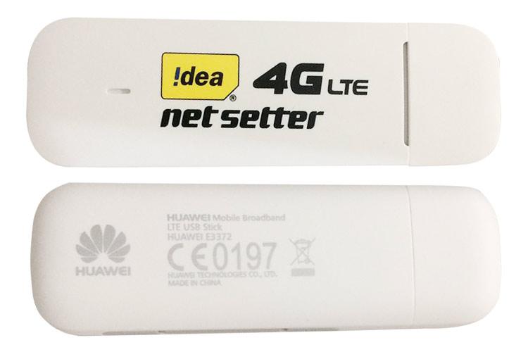 USB 4G Huawei E3372 | Dcom 4G cho tốc độ lướt web chóng mặt + Sim 4G Viaphone trọn Gói 12 Tháng | 5.5GB/Tháng - Hàng Nhập Khẩu