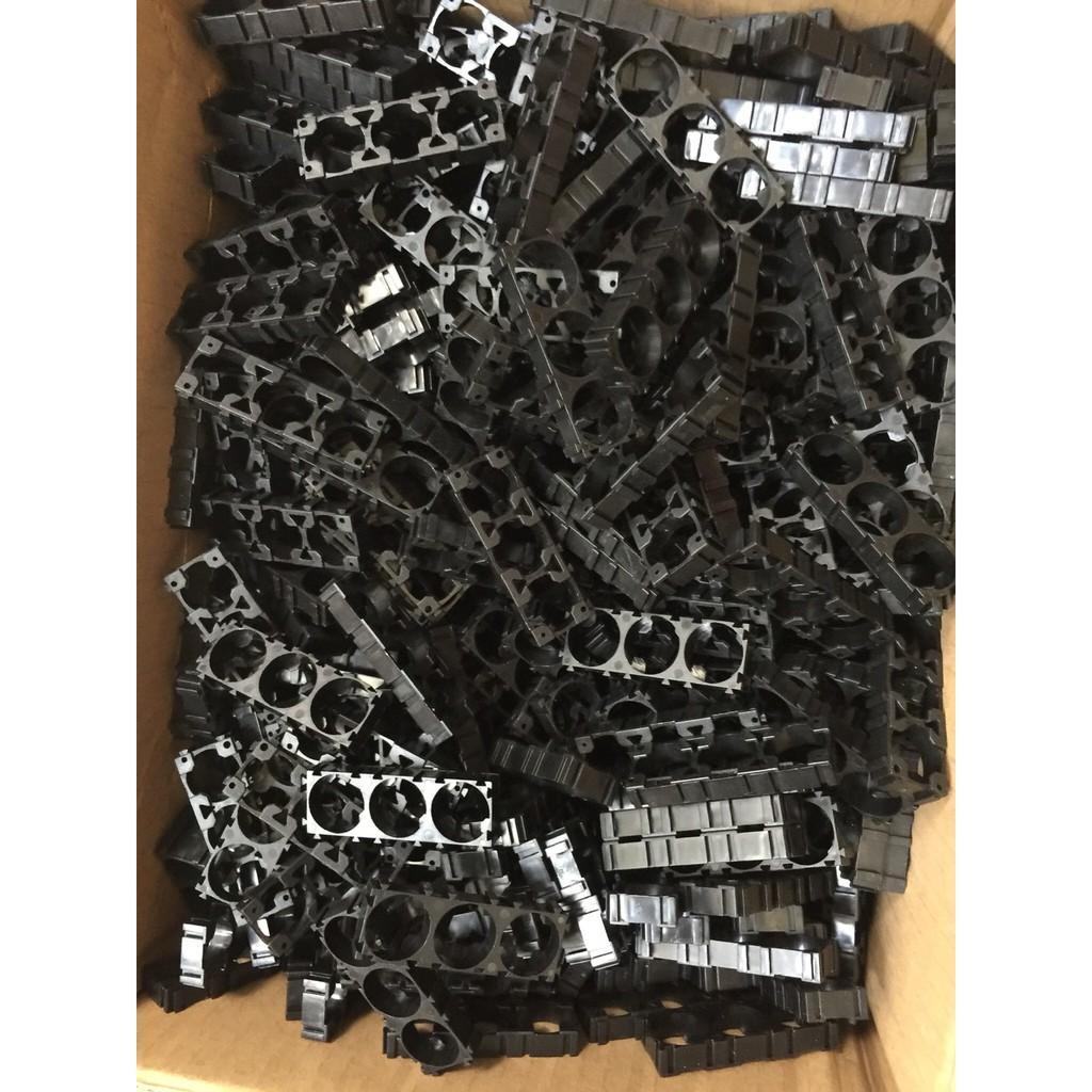 Khung nhựa giữ pin 1x3p 18650