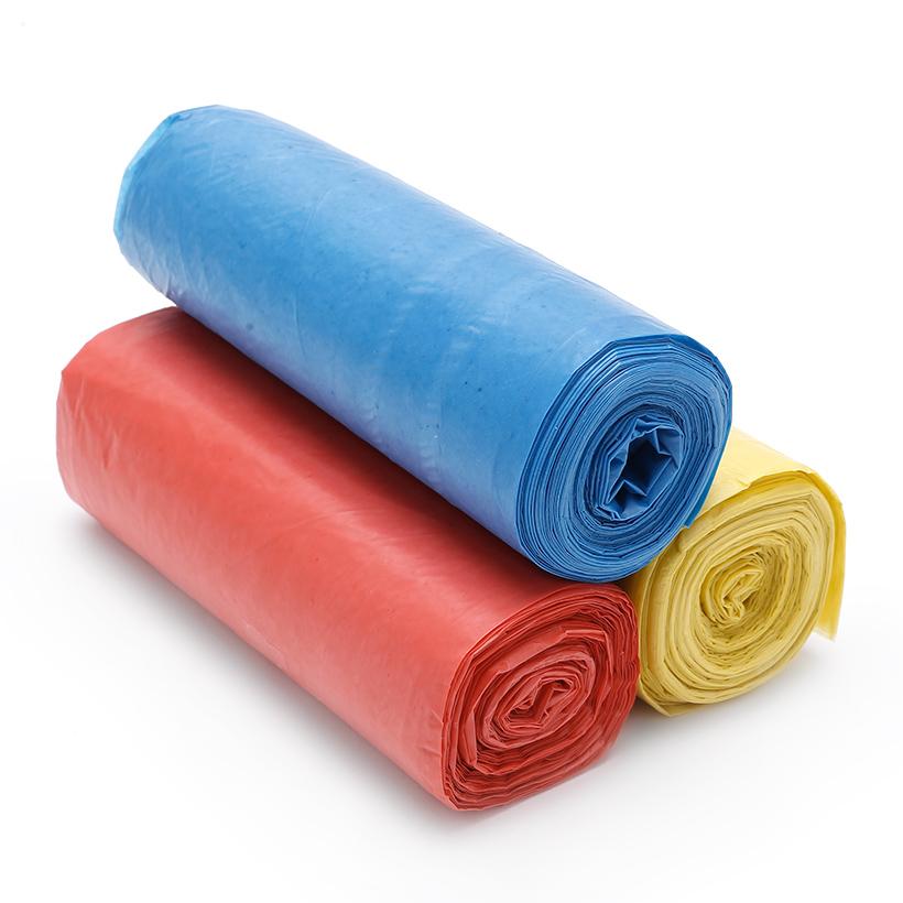 Combo 3kg túi đựng rác không lõi EIG size trung 55 x 65 cm (Nhiều màu)