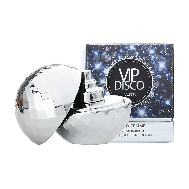 Nước Hoa Châu Âu Cao Cấp Dành Cho Nữ Laurelle London Disco Silver EDP 100Ml