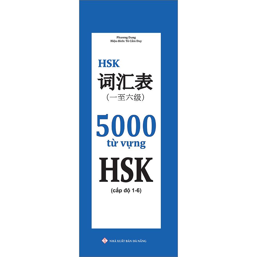 5000 Từ Vựng HSK (Cấp Độ 1-6)