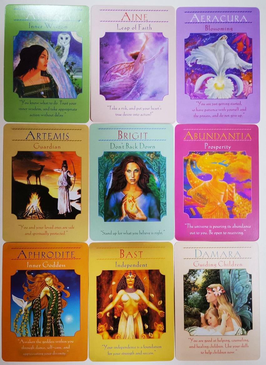 Bộ Bài Bói Tarot Goddess Guidance Oracle Cards Cao Cấp