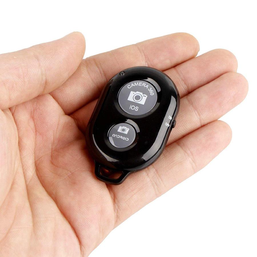 Remote Chụp Ảnh Bluetooth Cho Điện Thoại - Hàng Nhập Khẩu