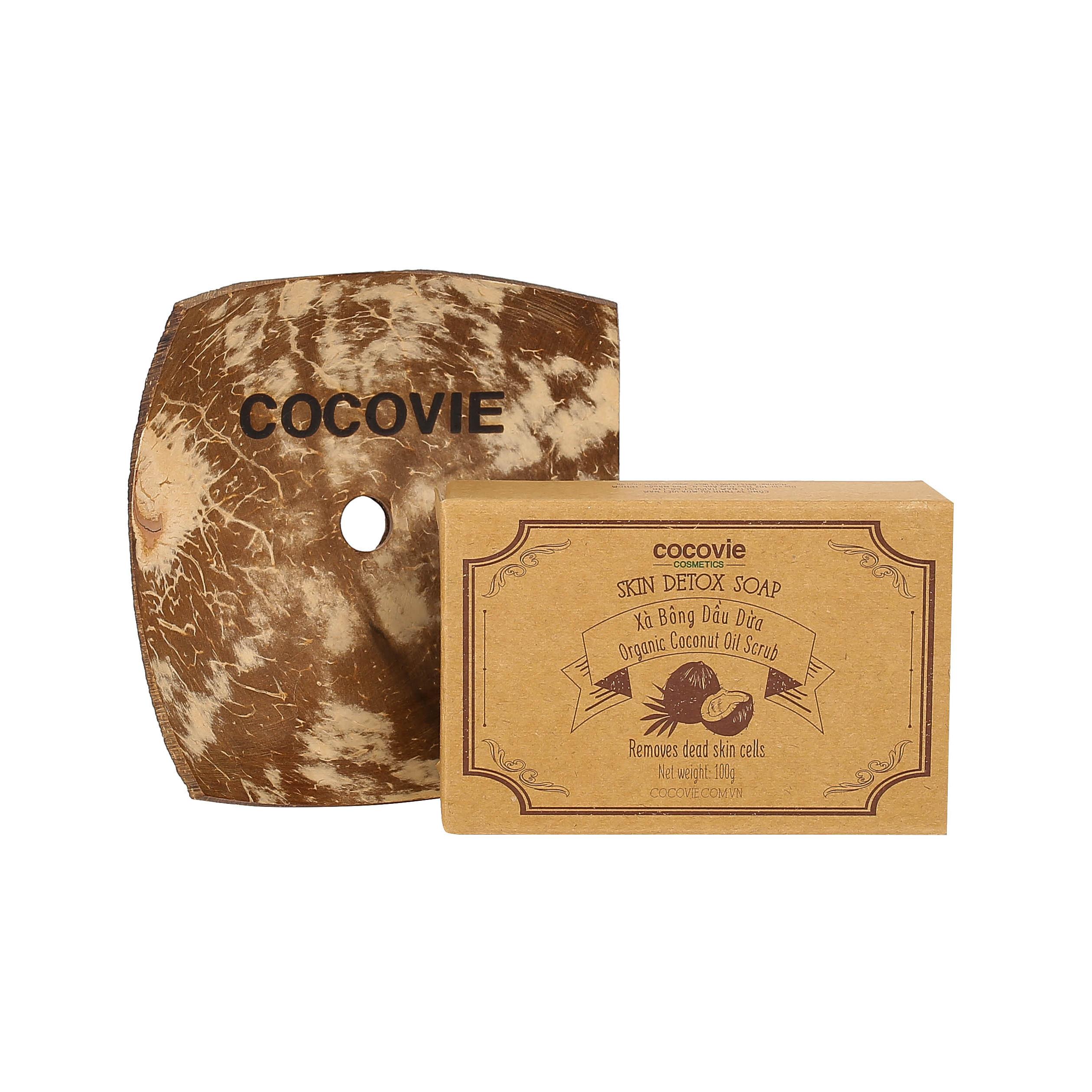 XÀ PHÒNG DẦU DỪA SKIN DETOX SOAP: ORGANIC COCONUT SCRUB