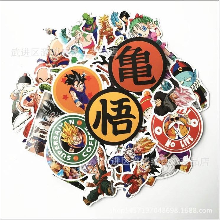 Bộ Sticker Dragon Ball