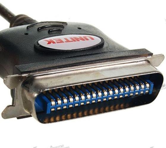 Cáp chuyển đổi USB sang LPT Unitek Y-120 Hàng Chính Hãng
