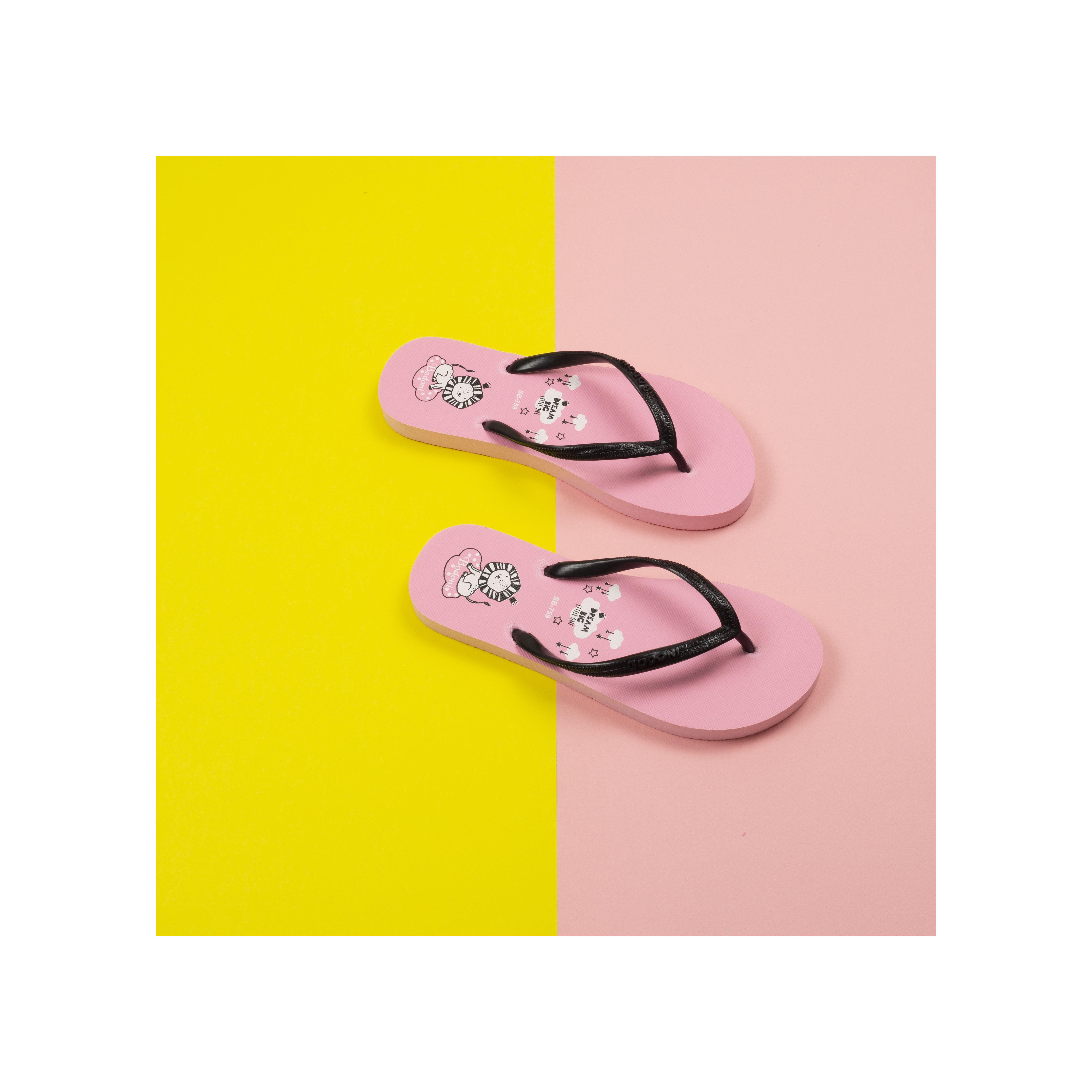 Dép xốp xỏ ngón siêu cute Bodoni dùng đi biển ,đi du lịch, mang trong nhà