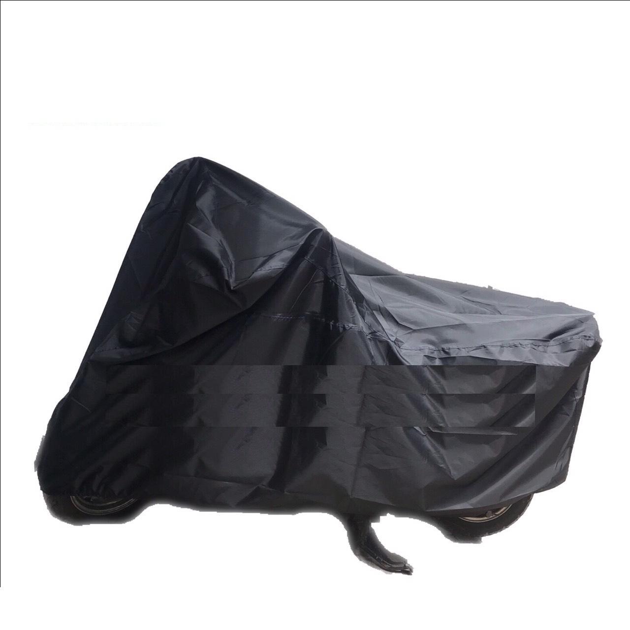 Hình ảnh Bạt trùm xe máy, áo trùm xe vải dù cao cấp 220cm x 115cm che vừa vặn tất cả các loại xe máy - giao màu ngẫu nhiên