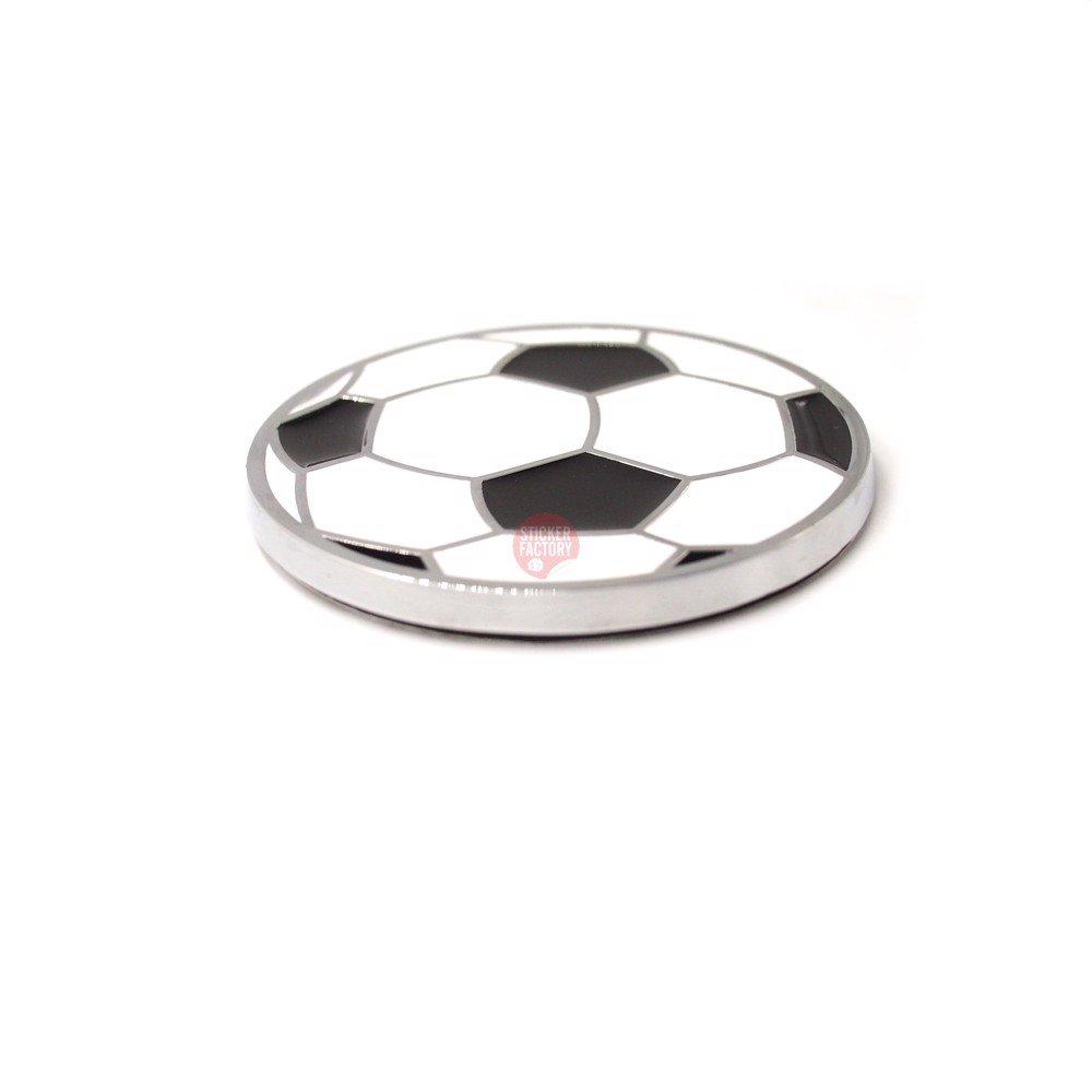 Foolball quả bóng 5.5cm - Sticker hình dán metal kim loại 3D