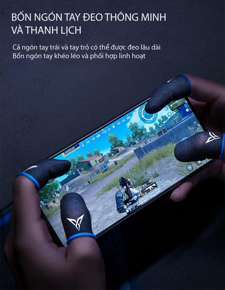 Flydigi Wasp Feelers 2   Găng tay chơi game PUBG, Liên quân, chống mồ hôi, cực nhạy - Hàng Chính Hãng